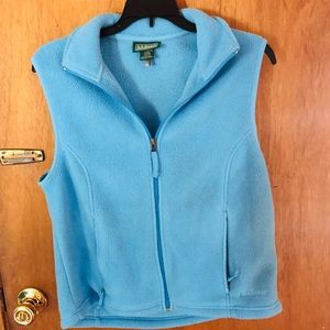 Blue Fleece vest